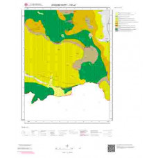 J52a2 Paftası 1/25.000 Ölçekli Vektör Jeoloji Haritası