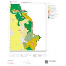 J52a4 Paftası 1/25.000 Ölçekli Vektör Jeoloji Haritası