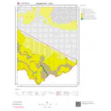 J52b1 Paftası 1/25.000 Ölçekli Vektör Jeoloji Haritası