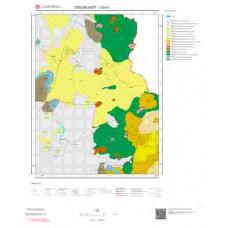 J52d1 Paftası 1/25.000 Ölçekli Vektör Jeoloji Haritası