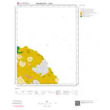 J52d2 Paftası 1/25.000 Ölçekli Vektör Jeoloji Haritası