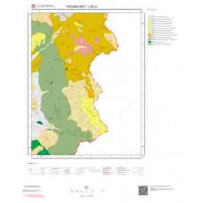 J52d3 Paftası 1/25.000 Ölçekli Vektör Jeoloji Haritası