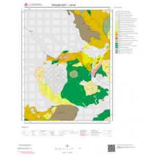 J52d4 Paftası 1/25.000 Ölçekli Vektör Jeoloji Haritası