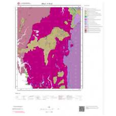 K16c3 Paftası 1/25.000 Ölçekli Vektör Jeoloji Haritası