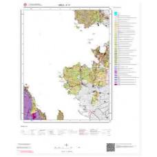 K17 Paftası 1/100.000 Ölçekli Vektör Jeoloji Haritası