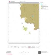 K17b1 Paftası 1/25.000 Ölçekli Vektör Jeoloji Haritası
