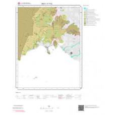 K17b2 Paftası 1/25.000 Ölçekli Vektör Jeoloji Haritası