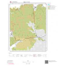 K17c1 Paftası 1/25.000 Ölçekli Vektör Jeoloji Haritası