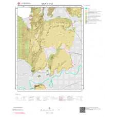 K17c2 Paftası 1/25.000 Ölçekli Vektör Jeoloji Haritası
