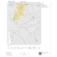 K17c3 Paftası 1/25.000 Ölçekli Vektör Jeoloji Haritası