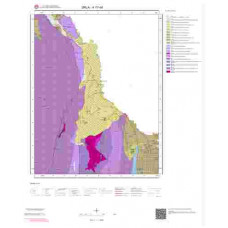 K17d4 Paftası 1/25.000 Ölçekli Vektör Jeoloji Haritası