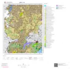 K18 Paftası 1/100.000 Ölçekli Vektör Jeoloji Haritası
