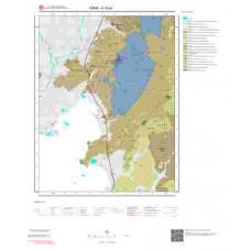 K18a1 Paftası 1/25.000 Ölçekli Vektör Jeoloji Haritası