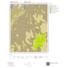 K18a2 Paftası 1/25.000 Ölçekli Vektör Jeoloji Haritası