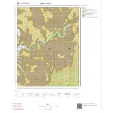 K18a3 Paftası 1/25.000 Ölçekli Vektör Jeoloji Haritası