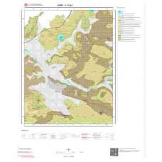 K18a4 Paftası 1/25.000 Ölçekli Vektör Jeoloji Haritası