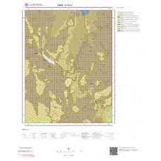 K18b1 Paftası 1/25.000 Ölçekli Vektör Jeoloji Haritası