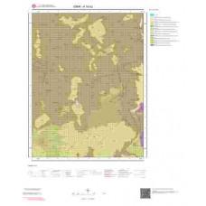 K18b2 Paftası 1/25.000 Ölçekli Vektör Jeoloji Haritası
