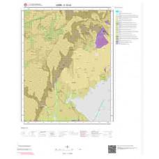 K18b3 Paftası 1/25.000 Ölçekli Vektör Jeoloji Haritası