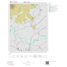 K18c2 Paftası 1/25.000 Ölçekli Vektör Jeoloji Haritası