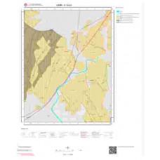 K19a3 Paftası 1/25.000 Ölçekli Vektör Jeoloji Haritası