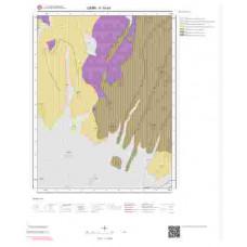 K19a4 Paftası 1/25.000 Ölçekli Vektör Jeoloji Haritası