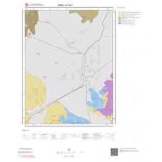 K19b1 Paftası 1/25.000 Ölçekli Vektör Jeoloji Haritası