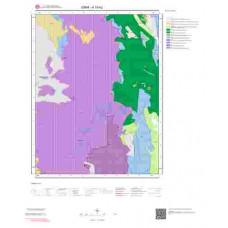 K19b2 Paftası 1/25.000 Ölçekli Vektör Jeoloji Haritası