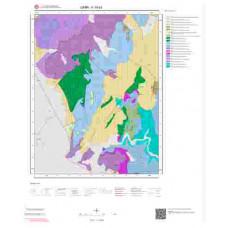 K19b3 Paftası 1/25.000 Ölçekli Vektör Jeoloji Haritası