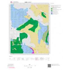 K19c1 Paftası 1/25.000 Ölçekli Vektör Jeoloji Haritası