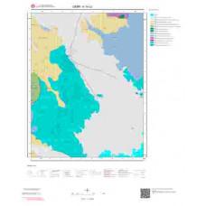 K19c2 Paftası 1/25.000 Ölçekli Vektör Jeoloji Haritası