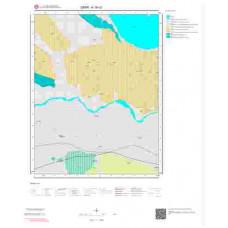 K19c3 Paftası 1/25.000 Ölçekli Vektör Jeoloji Haritası