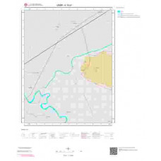 K19d1 Paftası 1/25.000 Ölçekli Vektör Jeoloji Haritası