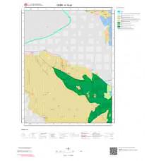 K19d2 Paftası 1/25.000 Ölçekli Vektör Jeoloji Haritası