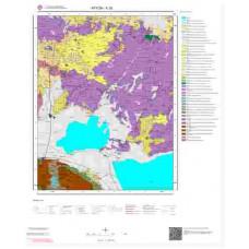 K26 Paftası 1/100.000 Ölçekli Vektör Jeoloji Haritası