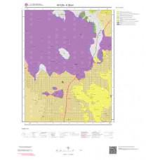 K26a1 Paftası 1/25.000 Ölçekli Vektör Jeoloji Haritası