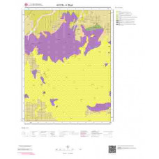 K26a2 Paftası 1/25.000 Ölçekli Vektör Jeoloji Haritası