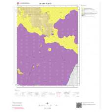 K26a3 Paftası 1/25.000 Ölçekli Vektör Jeoloji Haritası