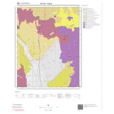 K26a4 Paftası 1/25.000 Ölçekli Vektör Jeoloji Haritası