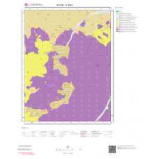 K26b1 Paftası 1/25.000 Ölçekli Vektör Jeoloji Haritası
