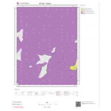 K26b3 Paftası 1/25.000 Ölçekli Vektör Jeoloji Haritası