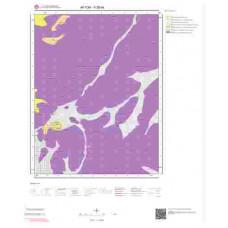K26b4 Paftası 1/25.000 Ölçekli Vektör Jeoloji Haritası