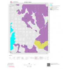 K26c1 Paftası 1/25.000 Ölçekli Vektör Jeoloji Haritası