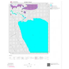 K26c4 Paftası 1/25.000 Ölçekli Vektör Jeoloji Haritası