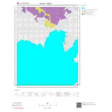 K26d2 Paftası 1/25.000 Ölçekli Vektör Jeoloji Haritası
