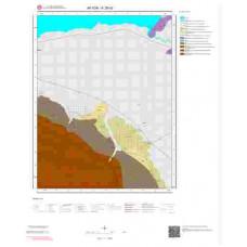 K26d3 Paftası 1/25.000 Ölçekli Vektör Jeoloji Haritası