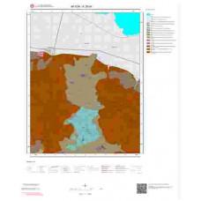 K26d4 Paftası 1/25.000 Ölçekli Vektör Jeoloji Haritası