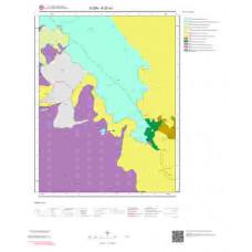 K27a1 Paftası 1/25.000 Ölçekli Vektör Jeoloji Haritası