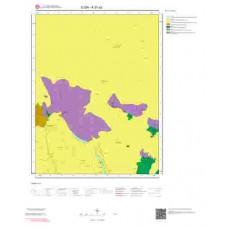 K27a2 Paftası 1/25.000 Ölçekli Vektör Jeoloji Haritası