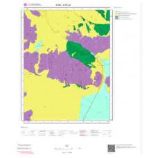 K27a3 Paftası 1/25.000 Ölçekli Vektör Jeoloji Haritası